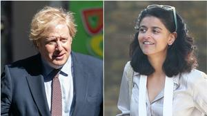 Boris Johnson and Munira Mirza (Jonathan Nguyen/Yui Mok)
