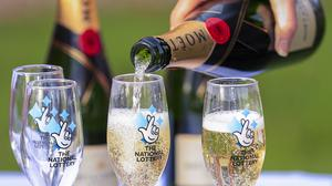 One UK winner has a EuroMillions ticket worth £57 million which is yet to be claimed (Peter Byrne/PA Wire)