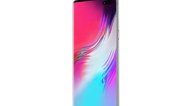 The Samsung Galaxy S10 5G will go on sale next month (Samsung/PA)
