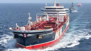 The Stena Impero has left Iranian waters (Ministry of Defence/PA)