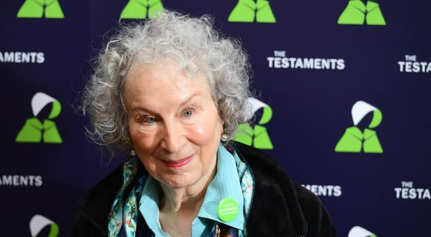 Margaret Atwood is only the third Canadian on the list of Order of Companions of Honour (Ian West/PA)