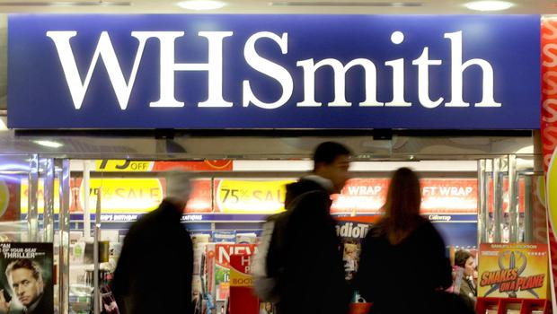 A WH Smith store (Anthony Devlin/PA)