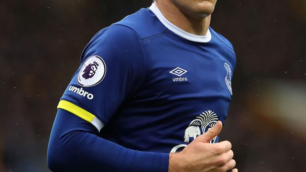 Everton footballer Ross Barkley was punched in a Liverpool city centre bar in the early hours of Monday