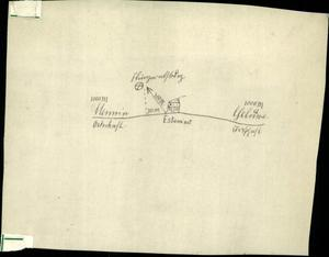 An example of a map sent to George Malcolm trying to help him find the grave of his son, Lt Alan Malcolm (CWGC/PA)