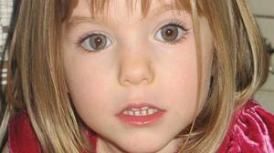 Undated handout file photo of Madeleine McCann (PA).