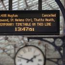 Nearly 28,000 passengers were questioned for the latest National Rail Passenger Survey (Nick Potts/PA)