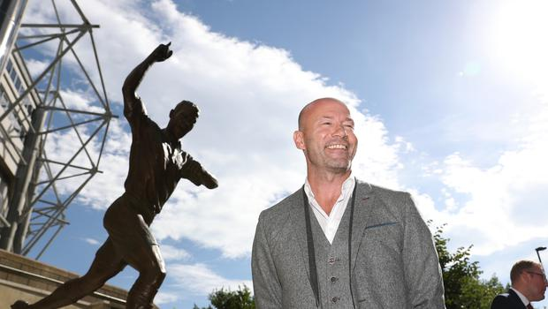 Alan Shearer will be honoured at a graduation ceremony next week (PA)