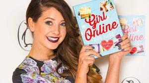 YouTube star Zoe Sugg, aka Zoella, at the launch party for her book Girl Online