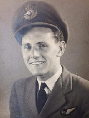 Mr Matthews during his RAF service (Cardiff Council/PA)
