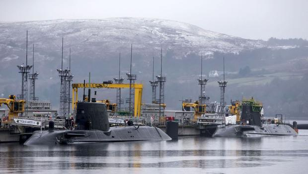 HM Naval Base Clyde, as GMB Scotland voices fears over the SNP's opposition to Trident