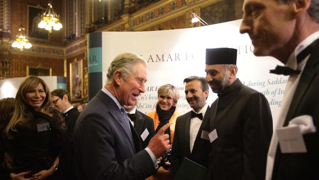 The Prince of Wales is to meet the women of the Yazidi choir (Yui Mok/PA)
