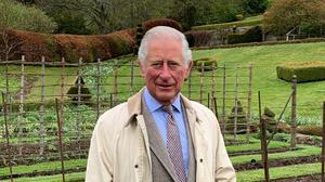 The Prince of Wales sent a video message to the virtual Chelsea Flower Show (Clarence House/PA)