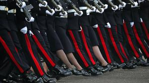 The victim was later shunned by colleagues at the Royal Military Academy Sandhurst (Hannah McKay/PA)