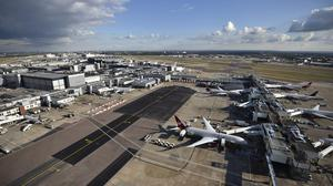 An average 243,000 passengers pass through Heathrow airport every day (Hannah McKay/PA)