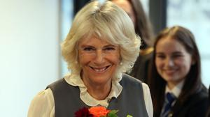 The Duchess of Cornwall visited Alford Community Campus in Aberdeenshire on Thursday (Andrew Milligan/PA)