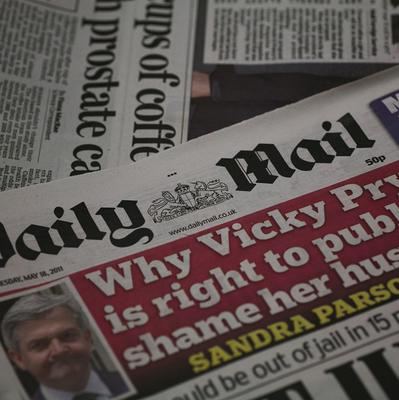 Sally Morgan sued for libel after an article was published in the Daily Mail in September 2011