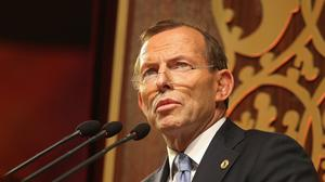 Tony Abbott was PM of Australia for two years (PA)