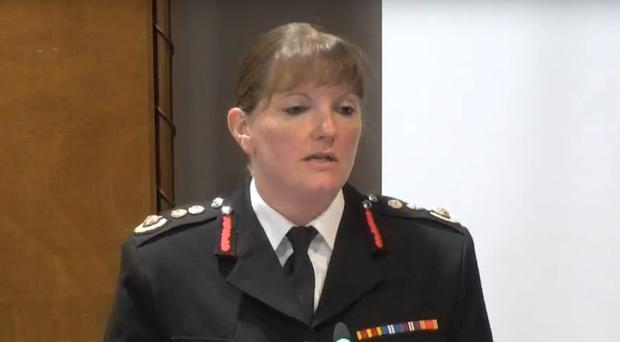 London Fire Brigade Commissioner Dany Cotton (Grenfell Tower inquiry)