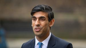 Chancellor Rishi Sunak is urged to invest £15bn in SMEs and sell the investments to the public. (Dominic Lipinski / PA)