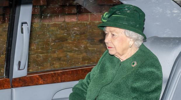 The Queen held talks at her Norfolk home (Joe Giddens/PA)
