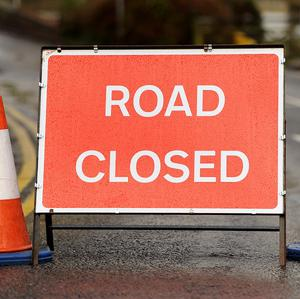 The M5 motorway between Hazelbank and Greencastle was sealed off, officers said