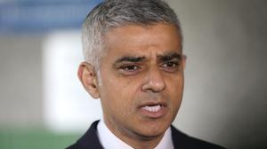 Sadiq Khan warned that 500,000 UK jobs could be lost in the event of a hard Brexit (Yui Mok/PA)