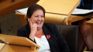 Scottish Labour's Jackie Baillie has been an MSP since 1999 (Jane Barlow/PA)