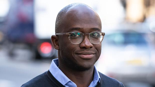 Sam Gyimah during a visit to WhiteHat in London (Aaron Chown/PA)
