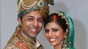 Undated file handout photo issued by the Bristol Evening Post of Shrien Dewani and Anni Dewani.