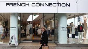 A branch of French Connection on Oxford Street, central London. (Yui Mok/PA)