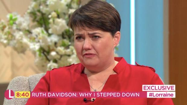 Ruth Davidson said that being 'hopelessly conflicted about Brexit' was one of the reasons she quit as leader of the Scottish Tories (ITV/PA)