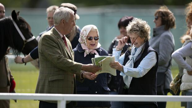 The Queen attends the Royal Windsor Horse Show (Steve Parsons/PA)