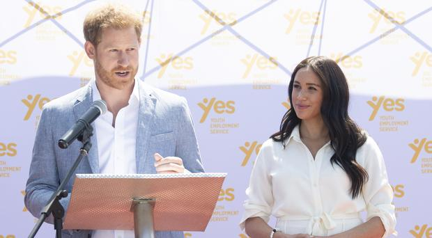 The Duke and Duchess of Sussex are trying to change the way media report on their engagements (Facundo Arrizabalaga/PA)