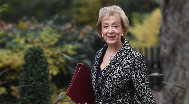 Business Secretary Andrea Leadsom has signed off on the merger between defence giant Cobham and US private equity firm Advent (PA)