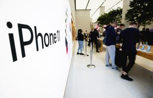 Apple has pledged to become carbon neutral across its entire business, manufacturing supply chain, and product life cycle by 2030 (Jonathan Brady/PA)