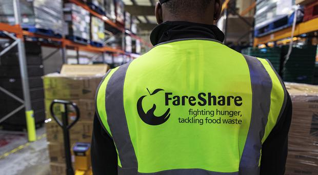 Undated handout photo issued by the Ministry of Defence of ration packs arriving at the FareShare Charity depot in Deptford. The MoD has donated 14,000 of the unused ration packs to the food waste charity in time for Christmas.