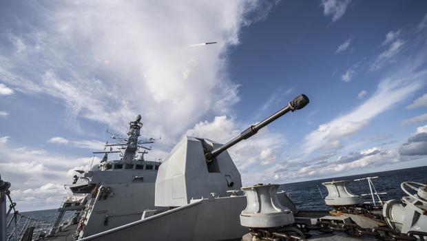 Sea Ceptor has officially entered into service, the Defence Secretary will announce (Ministry of Defence/PA)