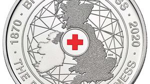 A commemorative £5 coin will be released by the Royal Mint to celebrate 150 years of the British Red Cross (Royal Mint/PA)