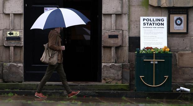 The forecast is not looking promising (David Jones/PA)