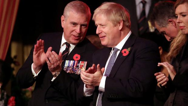 There has been strong criticism of the Duke of York (left) (Chris Jackson/PA)