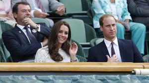 The Duke and Duchess of Cambridge will be at Wimbledon to watch Andy Murray play