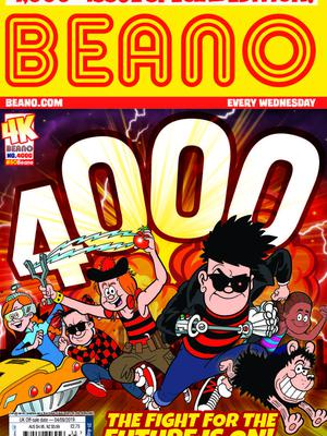 The 4,000th edition of the Beano goes on sale on Wednesday (The Beano/PA)