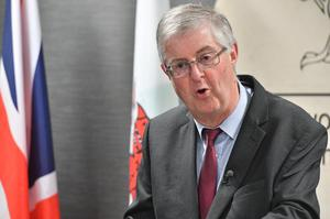 Mark Drakeford said people need to 'continue to be safe' (Ben Birchall/PA)
