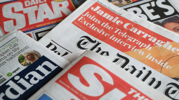 What the papers say – March 2 (Peter Byrne/PA)