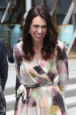 New Zealand Prime Minister Jacinda Ardern was one of three women in the top five (Chris Jackson/PA)