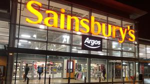 Sainsbury's is slashing the prices of hundreds of essential groceries (Michael McHugh/PA)
