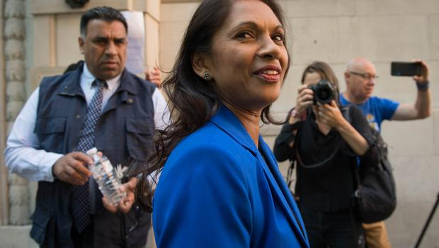 One threat comes from Gina Miller (Stefan Rousseau/PA)