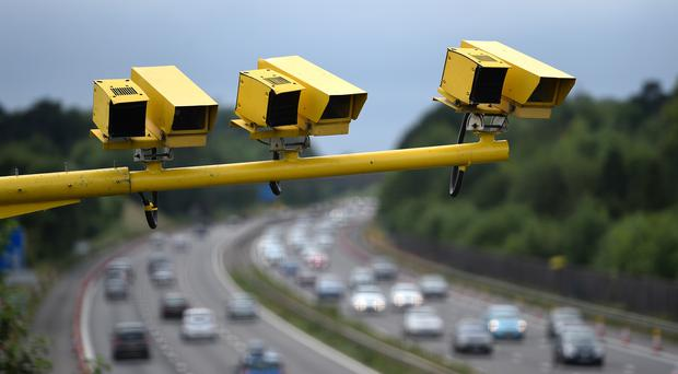 A study commissioned by the RAC Foundation found that 2.39 million drivers were detected speeding in England and Wales in 2018/19 (Andrew Matthews/PA)