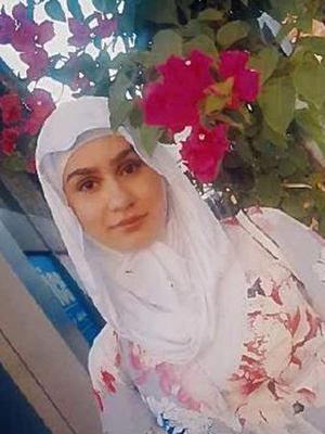 Aya Hachem was shot dead in the street (Lancashire Police/PA)