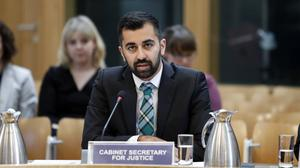 Cabinet Secretary for Justice Humza Yousaf was speaking at a Holyrood committee (Andrew Cowan/PA)